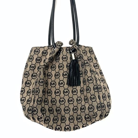 MICHAEL Michael Kors Handbags - Michael Michael Kors Jacquard Draw Handle Bag